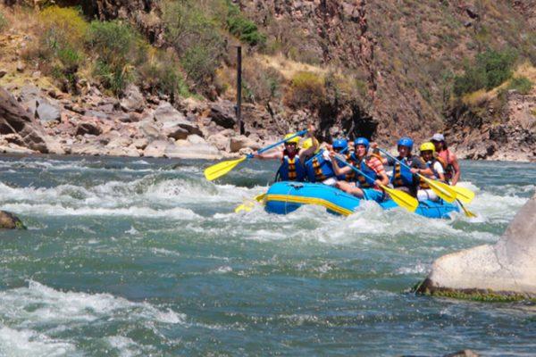 THE GREAT URUBAMBA RIVER/RAFTING CLASS I & II