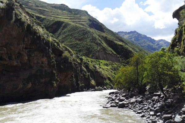 THE GREAT URUBAMBA RIVER /RAFTING CLASS II & III