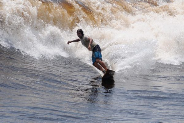 SURFING SOUTH OF LIMA