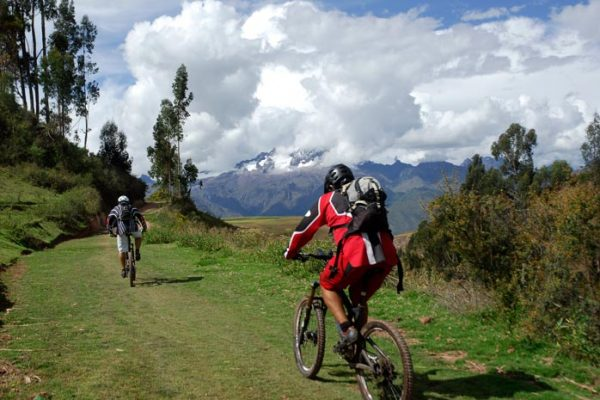 Mountain Bike in the Andes