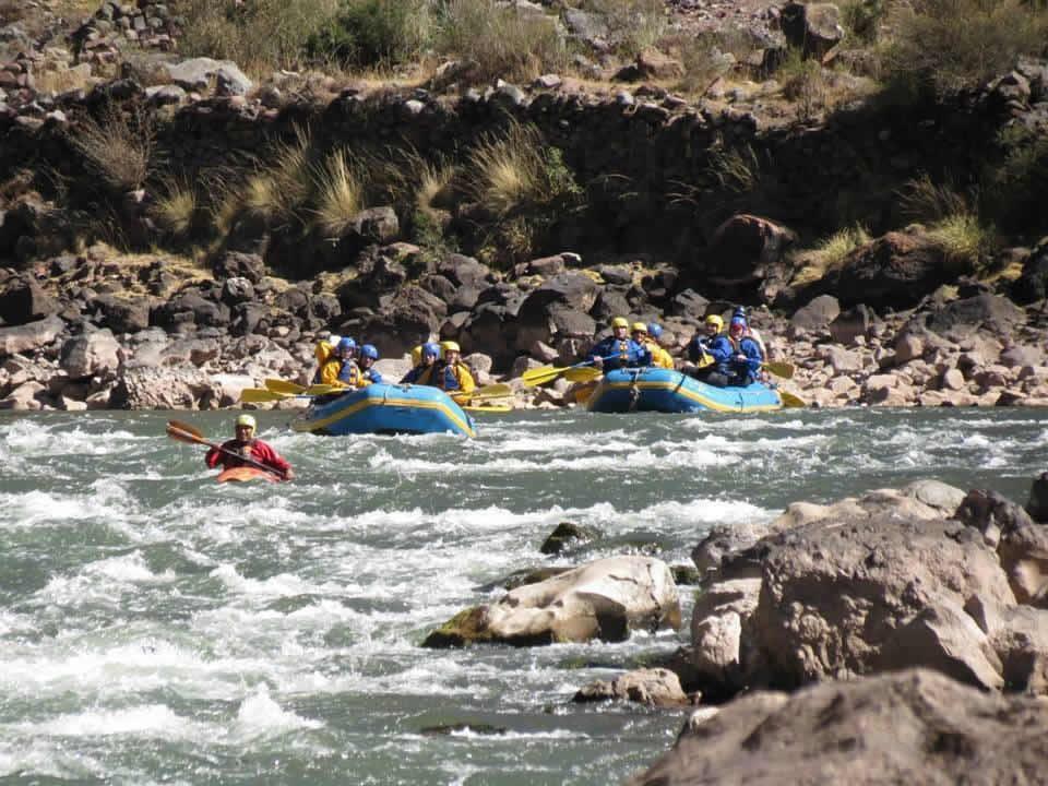rafting cusco