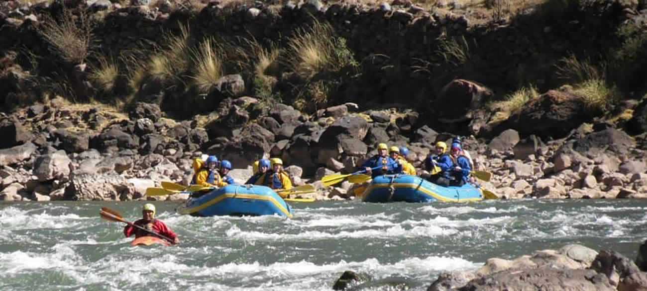 tour river rafting cusco
